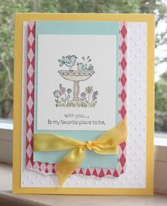 Little Bay Stampin': Put A Bird On - featuring Stampin' Up! #stampinup