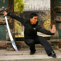 "Donnie Yen-甄子丹 Official ""A swordsman never leave his sword out of his hands!"""
