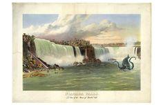 A View of Niagara Fa
