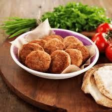أقراص لحم الغنم والبطاطا
