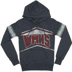 WMHS Varsity   Glee Womens Hooded Sweatshirt.. NOW HAVE IT