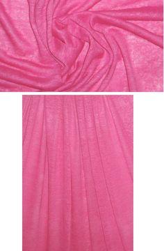 $25/yard semi-opaque linen knit 15% stretch pinks from EmmaOneSock.com