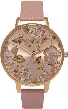 Topshop Dusty Pink Olivia Burton Parlour Pink And Gold Watch Pink Beige, Dusty Pink, Pink And Gold, Red Gold, Olivia Burton, Pink Jewelry, Vintage Jewelry, Jewlery, Vintage Rose Gold