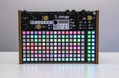 Powerful and robust synthesizer, sampler & sequencer in a portable package