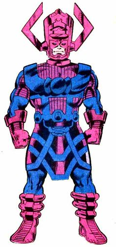 Galactus - (created by Jack Kirby and Stan Lee) Illustration by John Byrne and Terry Austin
