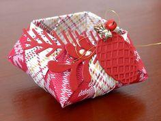 Kreativwerkstatt Karin Müller, Stampin' Up!, Gemütliche Weihnachten, Origami Star Box