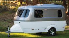 Nest Caravan Camper owned by Airstream