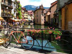 Beauty of Annecy, Haute-Savoie, Rhône-Alpes region in south-eastern France