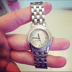 Gucci Watch Beautiful Silver Gucci watch at a great price!! Gucci Jewelry