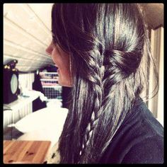Great Idea. Love side braids.