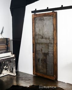 Seampunk style is both rustic and edgy, a favorite for artisans of all types. http://rusticahardware.com/steampunk-scrap-metal-door/