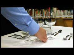 Como colocar la mesa