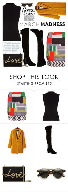 """6. March Madness"" by chubbycinth ❤ liked on Polyvore featuring 'S MaxMara, Oasis, Nine West, Lanvin and ZeroUV"