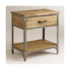 Cost Plus World Market Aiden Nightstand ($200) ❤ liked on Polyvore