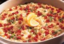Hot Artichoke Crabmeat Dip. I always get tons of requests for this appetizer