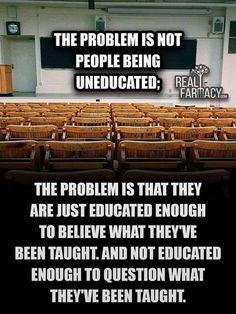 Money Master Educational system for the masses (Slaves)