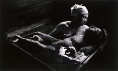 eugene smith  Tomoko in Her Bath, Mother and daughter with Minamata Disease, Japan