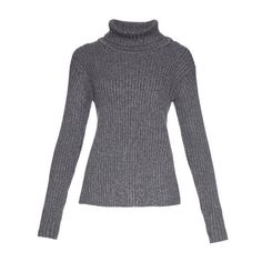 Fendi Cashmere-Mohair Waffle Knit Turtleneck Pullover ($1,060 ...