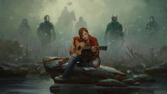 Marek Okon, whose work we've featured here a few times before made this Last of Us fan-art