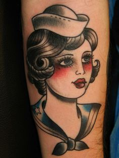 Love this wonderful sailor girl - by Sailors Grave