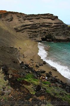 Green Sand Beach, Big Island Hawaii