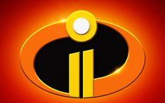 Download wallpapers Incredibles 2, logo, 2018 movie, 3d-animation, poster