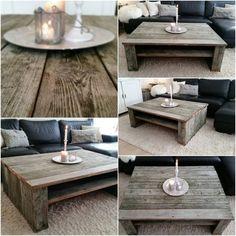 FINN – Shabby chic/ rustikk salongbord / stuebord selges Home Design Decor, House Design, Home Decor, Pallet Projects, Outdoor Ideas, Stove, Sweet Home, Mac, Interior