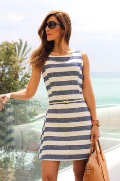 lovely stripe dress