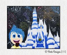Hey, I found this really awesome Etsy listing at https://www.etsy.com/listing/239778126/inside-out-joy-at-wdw-castle-disney
