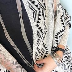 patterned blanket cardigan | maurices