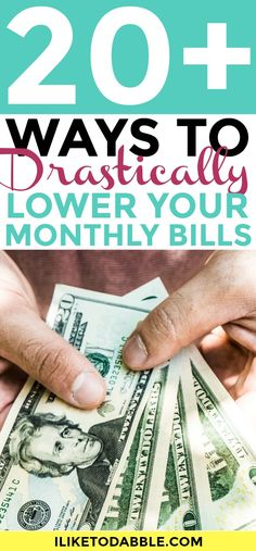 Lower your monthly b