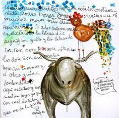 Syria - Art Dic-ta-tor / ديك - تا - ثور Mixed Media on Canvasby Neyruz Abu Jamra Global Awareness, Book And Magazine, Visual Communication, Make Art, Syria, Illustrator, How To Memorize Things, Mixed Media, Books