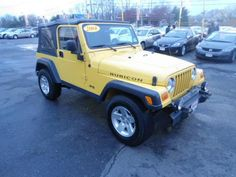 2004 Used Jeep Wrangler Rubicon at Payless Car Sales-South Amboy, NJStill under factory warranty!!!!SHOP SAFE! THIS CAR, AND ANY OTHER CAR YOU PURCHASE FROM PAYLESS CAR SALES IS PROTECTED WITH THE NJS LEMON LAW!! LOOKING FOR AN AFFORDABLE CAR THAT WON'T GIVE YOU PROBLEMS? COME TO PAYLESS CAR SALES TODAY! Para Representante en Espanol llama ahora PLEASE CALL ASAP 732-316-5555