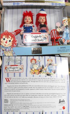 Kally & Tommy Collector Edition : Raggedy Ann & Andy