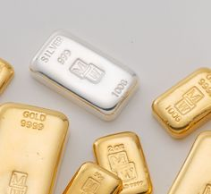 Various Morris and Watson bullion products. see today's prices - http://morrisandwatson.com/todays-gold-silver-prices