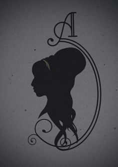 Amy Winehouse silhouette cameo.