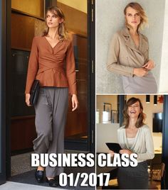 Business Class: 8 Women's Sewing Patterns