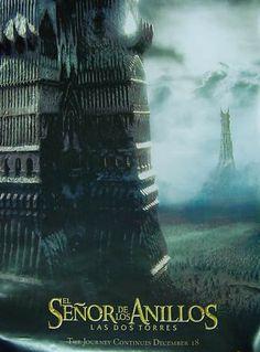 El Señor de los Anillos: Las Dos Torres, poster