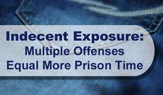 Indecent Exposure: Multiple Offenses Equal Prison Time in Denver Area.
