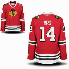 #Chicago #Blackhawks #NHL Personalized #Jersey using MRS and #Wedding Date Year. #gift #bride #hockey www.thestyleref.com