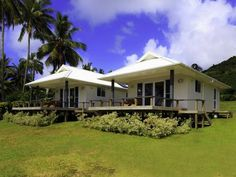 Little Oneroa Rarotonga Surrounded by lush tropical gardens, Little Oneroa offers self-contained accommodation with views over Muri Lagoon. This waterfront property features a balcony with an outdoor dining area.