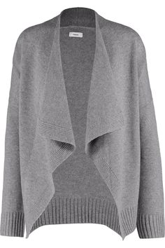 VINCE Draped wool and cashmere-blend cardigan. #vince #cloth #cardigan