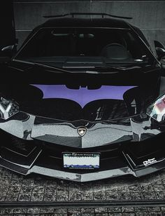 Lamborghini Aventador, Would Look Better As A Neon Green Batman Instead