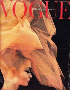 Cover:Model Celia Hammond photographed by Peter Rand.UK Vogue,December 1962.