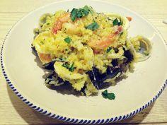 [1.19 Chef's Table 이탈리아 &프랑스 가정식] 샤프란 해산물 리조토