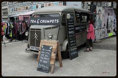 Tea and Crumpets, Citroen HY food truck