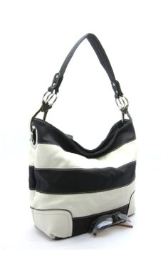 Great Bag For Everyday!  Hillary Bag ~ $42  Comes in lime/white, fuschia/white, black/white, orange/white, red/white