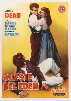 East of Eden James Dean Elia Kazan 1955 Movie Poster 2971 James Dean, Elia Kazan, 3 Movie, Movie Theater, East Of Eden, Turner Classic Movies, Cinema, Por Tv, Director