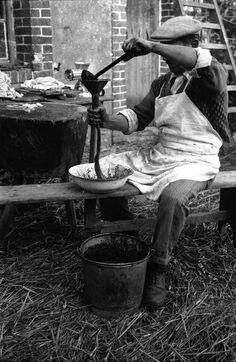 Le jour du cochon - Les paysans, photos archives - L'Internaute Actualite