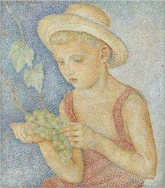 Boy with Grapes - Marevna (Marie Vorobieff)